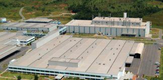 Parque Industrial da Mercedes Benz em Juiz de Fora — Foto: Mercedes Benz/Divulgação